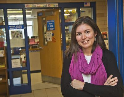 Former teacher returns as principal
