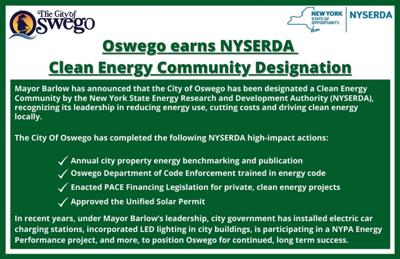 City of Oswego earns Clean Energy Community Designation for commitment to cut costs and reduce energy consumption