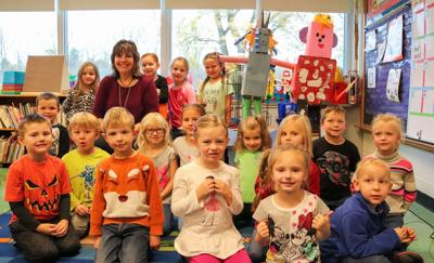 Maroun kindergartners participate in distance learning activity