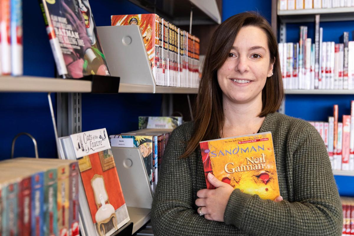 Flower Library collection reflects boom in graphic novel popularity