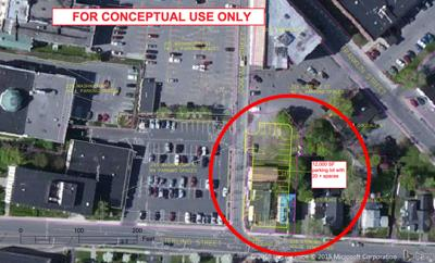 Plans continue for City Hall parking lot