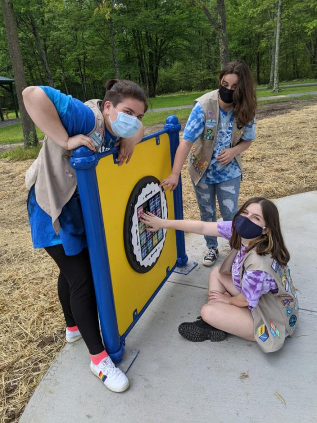 Central Square Girl Scouts host grand opening of Extraordinary Acres Playground at Van Lieu Park Aug. 8