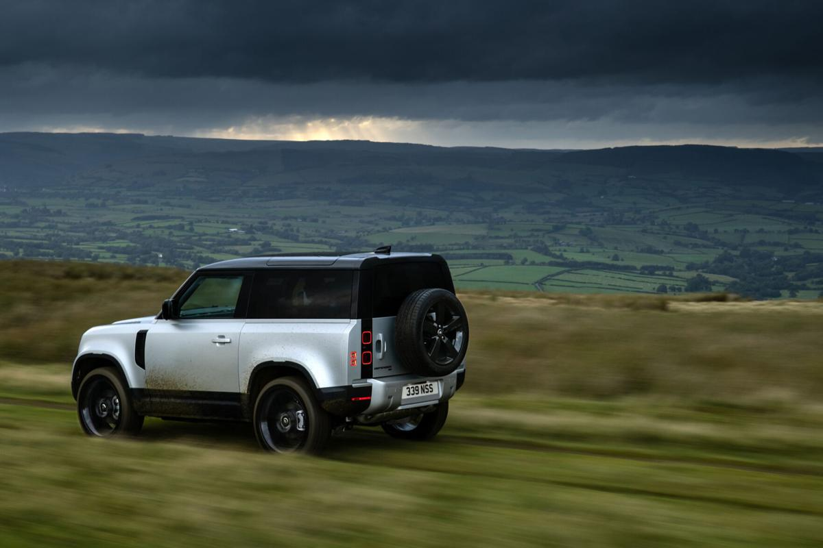 Rugged meets refined in Land Rover's remade Defender