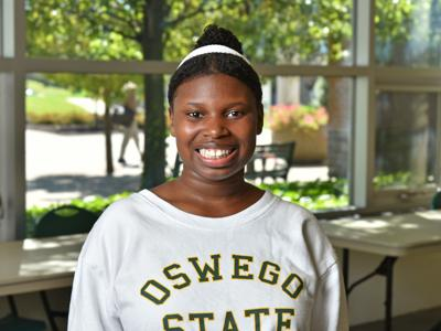 Overcoming obstacles earns SUNY Oswego freshman statewide scholarship