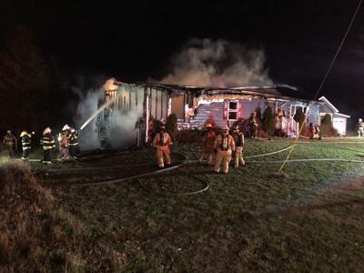 Fire destroys home in Rutland