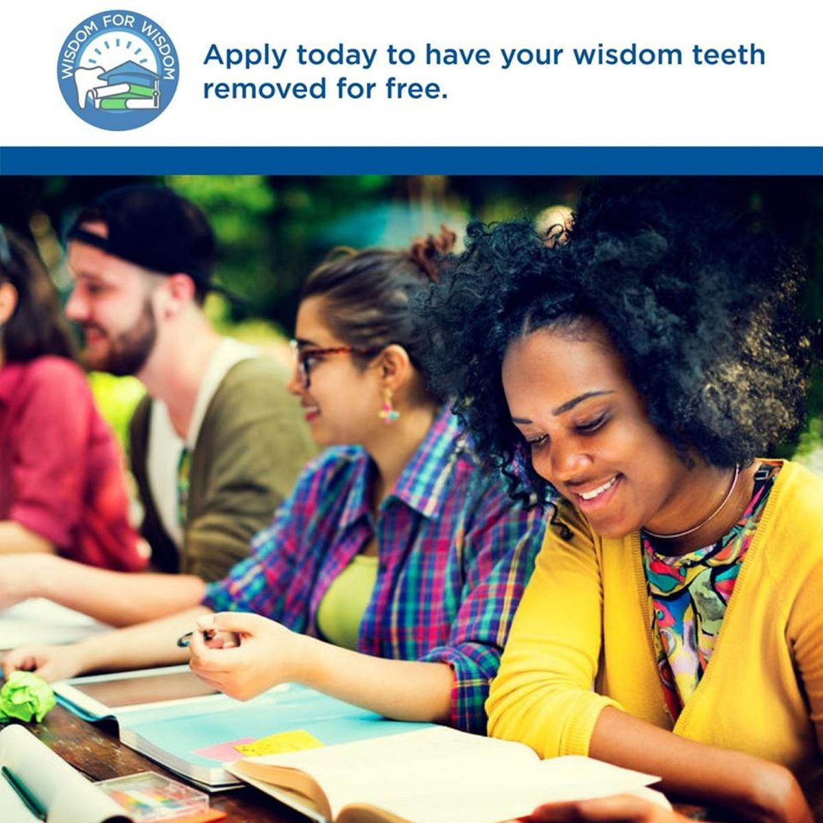 Free wisdom-teeth removal offered to college students
