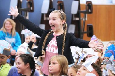LivBits visits Lanigan Elementary, shares positive messages