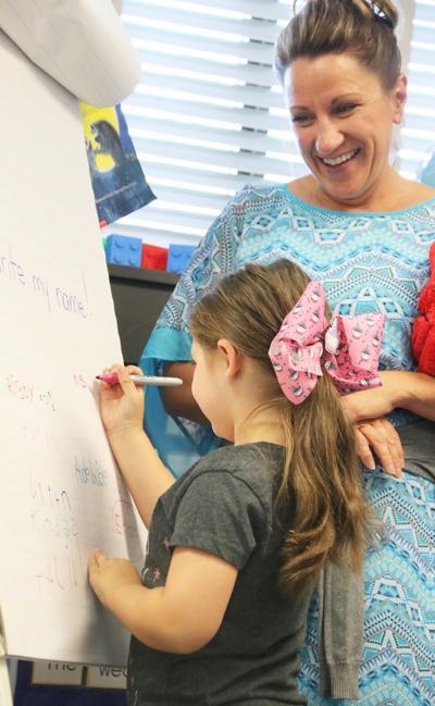 Oswego kindergartners begin educational journey