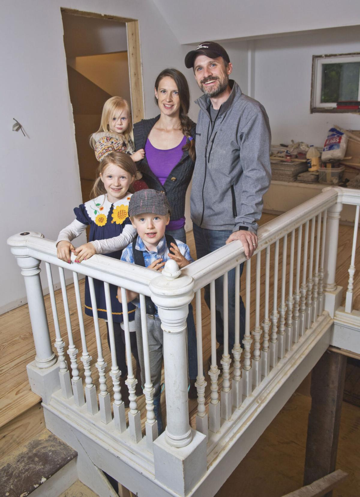Family records revamp of home