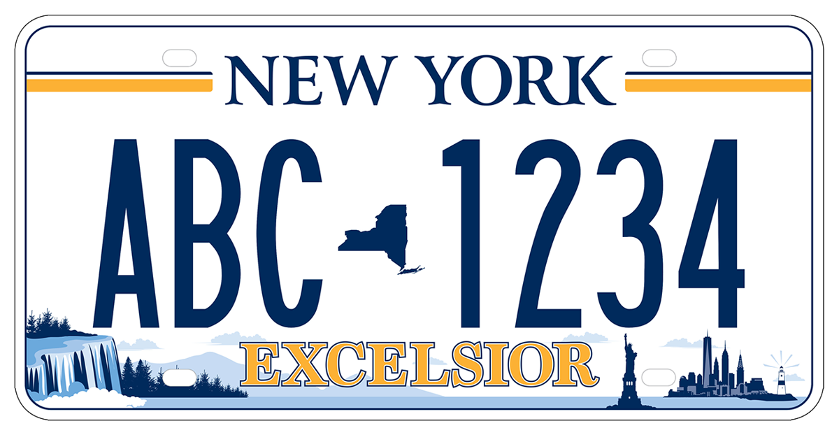 NYS license plate winner announced | News | nny360 com