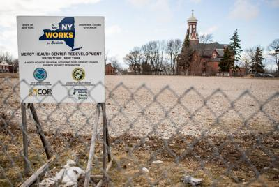City sued over property assessment of Mercy site