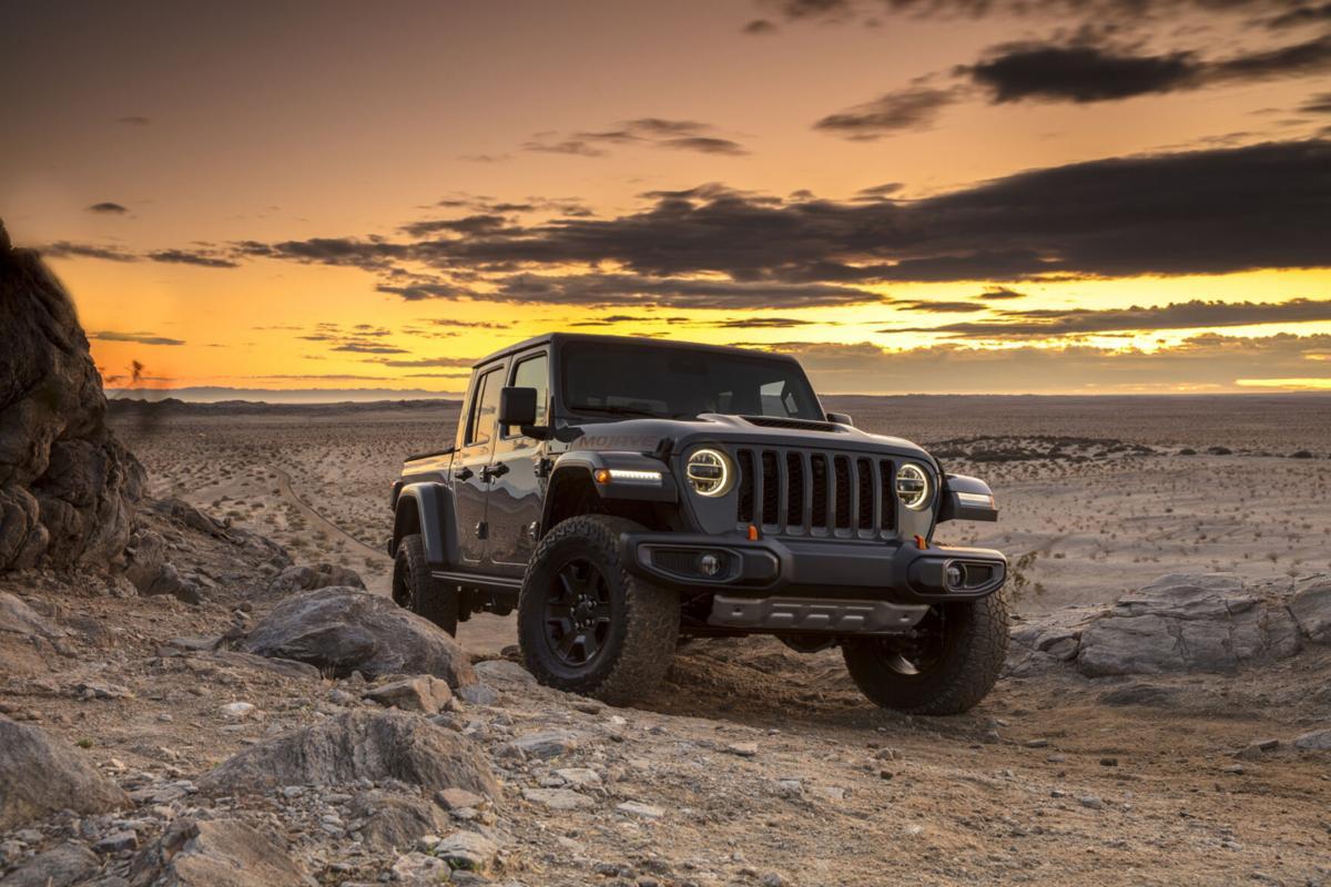 Mojave dunes await Jeep's newest Gladiator