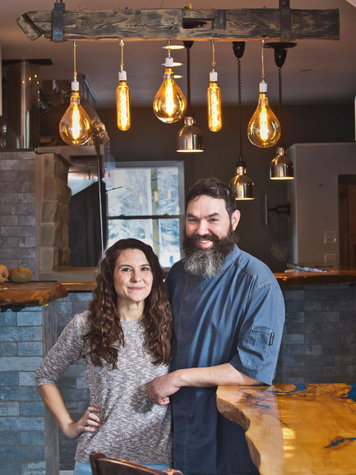 Couple turns home into restaurant
