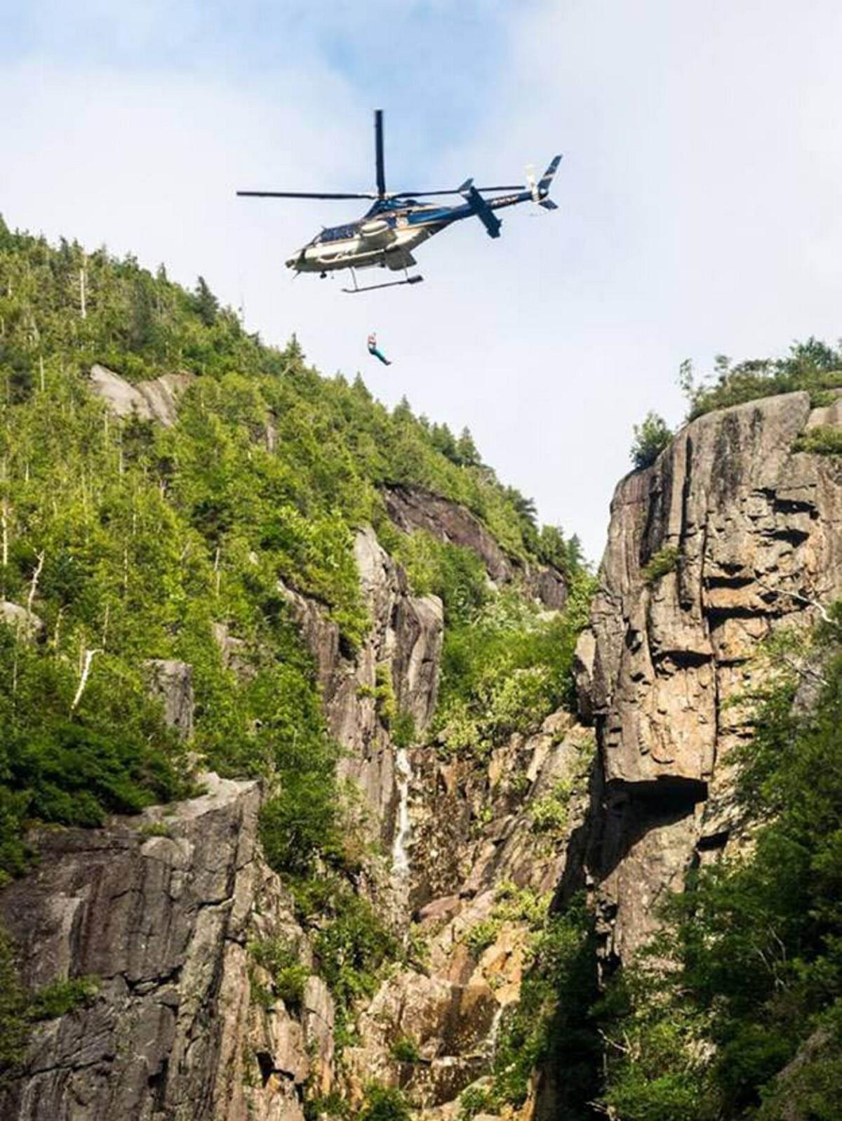Rangers rescue injured High Peaks hiker
