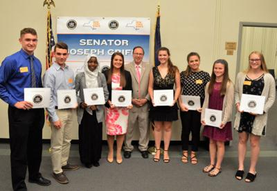 Two South Lewis students receive honors