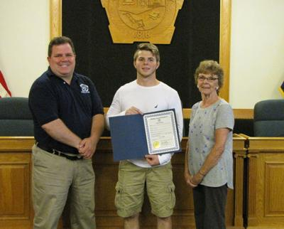 Fulton wrestler recognized