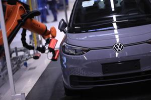 VW's bid to challenge Tesla will start with a software patch.