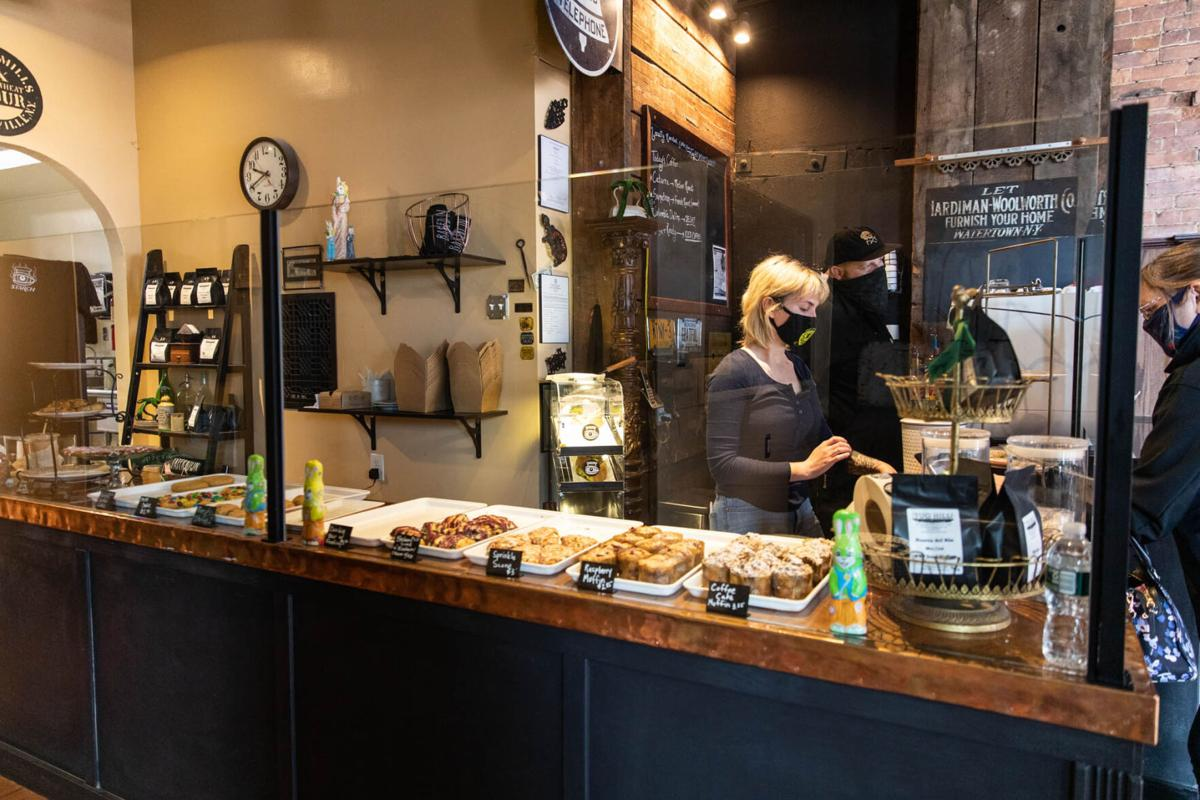 Business, dough rising at Starch