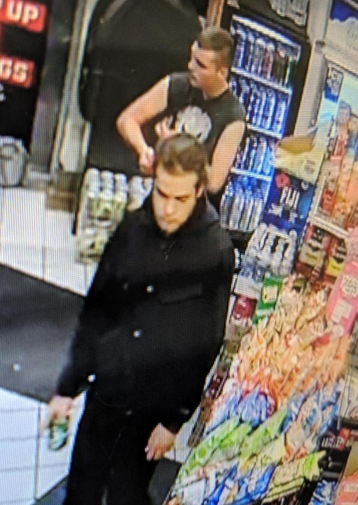 Police seek identity of two in larceny investigation