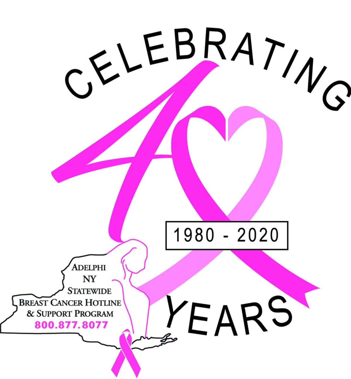 Statewide breast cancer hotline celebrating 40 years of service, education and advocacy