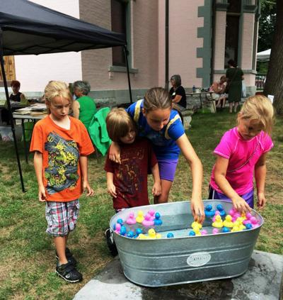 Family Fun Day on Aug. 18 commemorates Children's Civic Pride Day at the Richardson-Bates House Museum in Oswego
