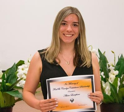 Scholarships and awards presented to JCB seniors