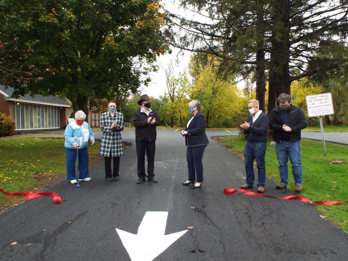 Sandy Creek Library expands parking lot