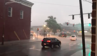 Summer storm in Canton