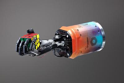 Robotic hand learned to solve a Rubik's Cube