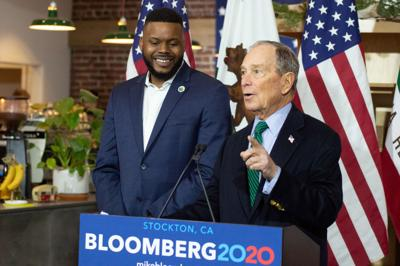 How Bloomberg's money built a 2020 political network