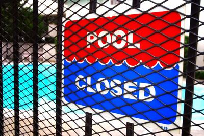 Can HOA close the pool when one person broke rules?