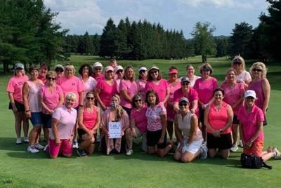 Stone Creek Golf Club Tuesday Night Women's League donates to OCO Cancer Services