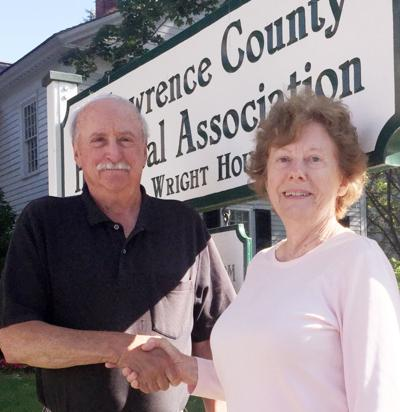 County historical director named