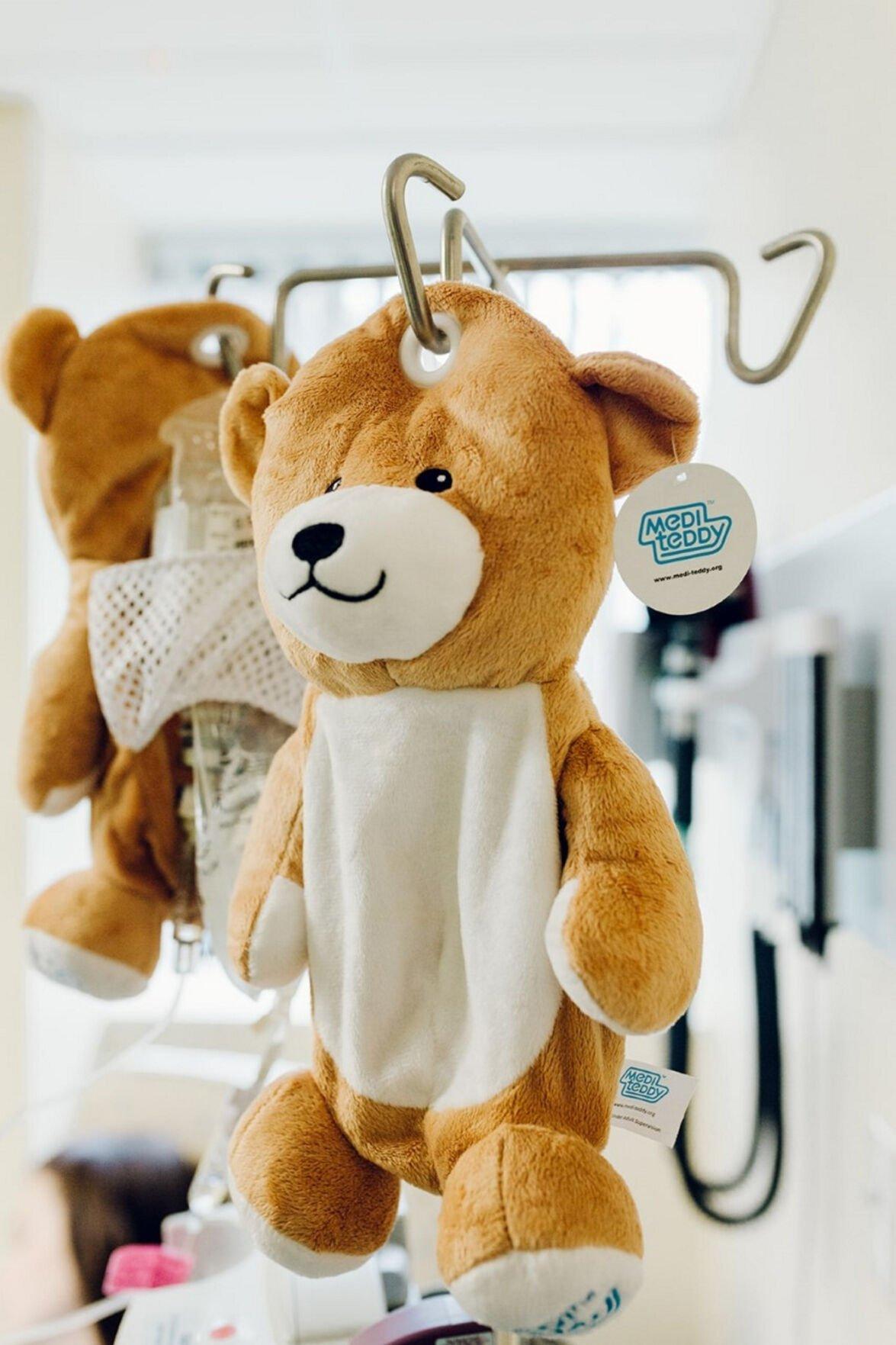 Medi Teddys a comfort to pediatric patients