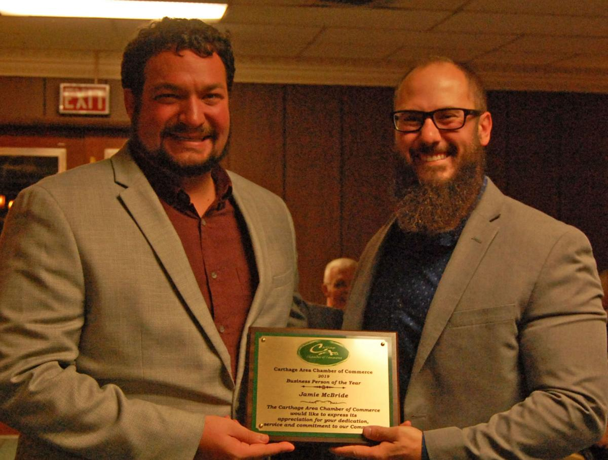 Carthage area businesses honored