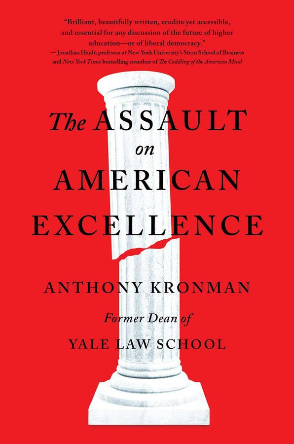 A Yale professor frets about a waning aristocracy
