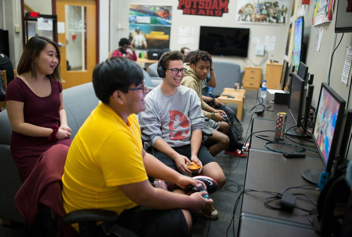 Esports club launche, competing at SUNY Potsdam