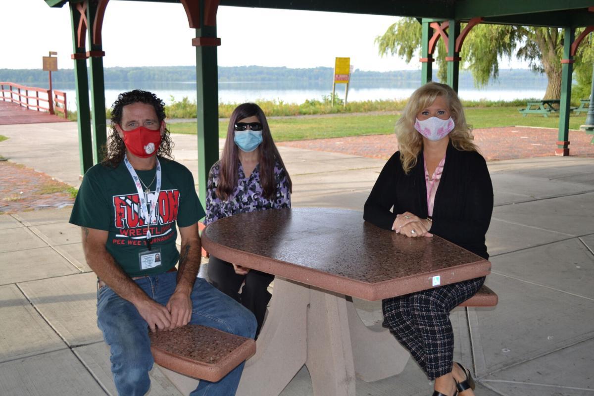 ADA inclusive picnic tables donated to Bullhead Point at Lake Neatahwanta
