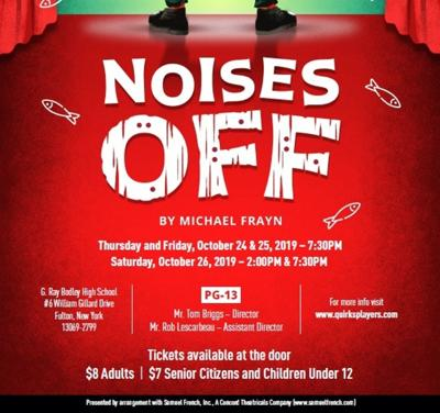 "GRB Quirk's Players to present ""Noises Off"" Oct. 24-26"