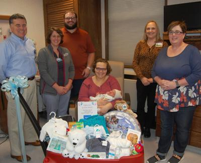 Lowville hospital welcomes first baby of 2020