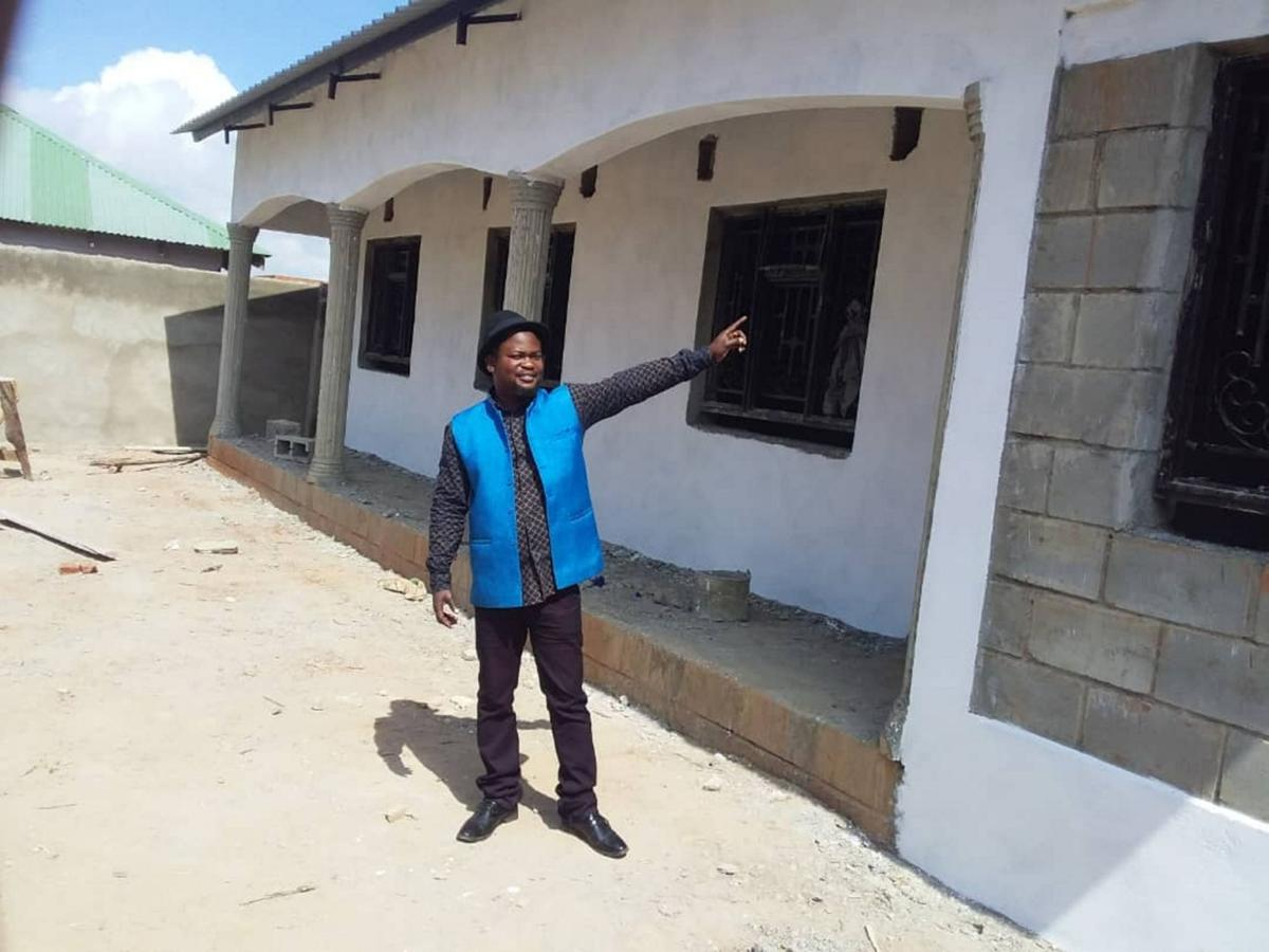 Library rises again in Malawi