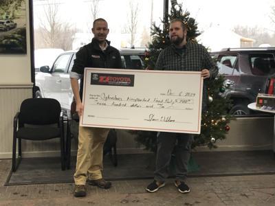 Tj Toyota Donates to Ogdensburg food pantry