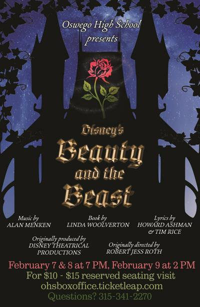 Tickets on sale for OHS production of Beauty & the Beast