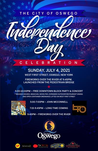 Cancelled: City of Oswego Independence Day Parade and Harborfest 2021 Mayor Barlow announces 2021 Independence Day Downtown Block Party