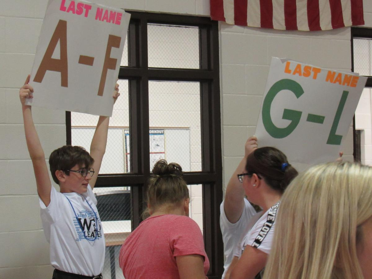 Massena 7th-graders welcomed