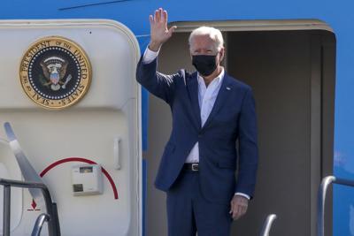 Biden urges passage of legislation to combat climate change