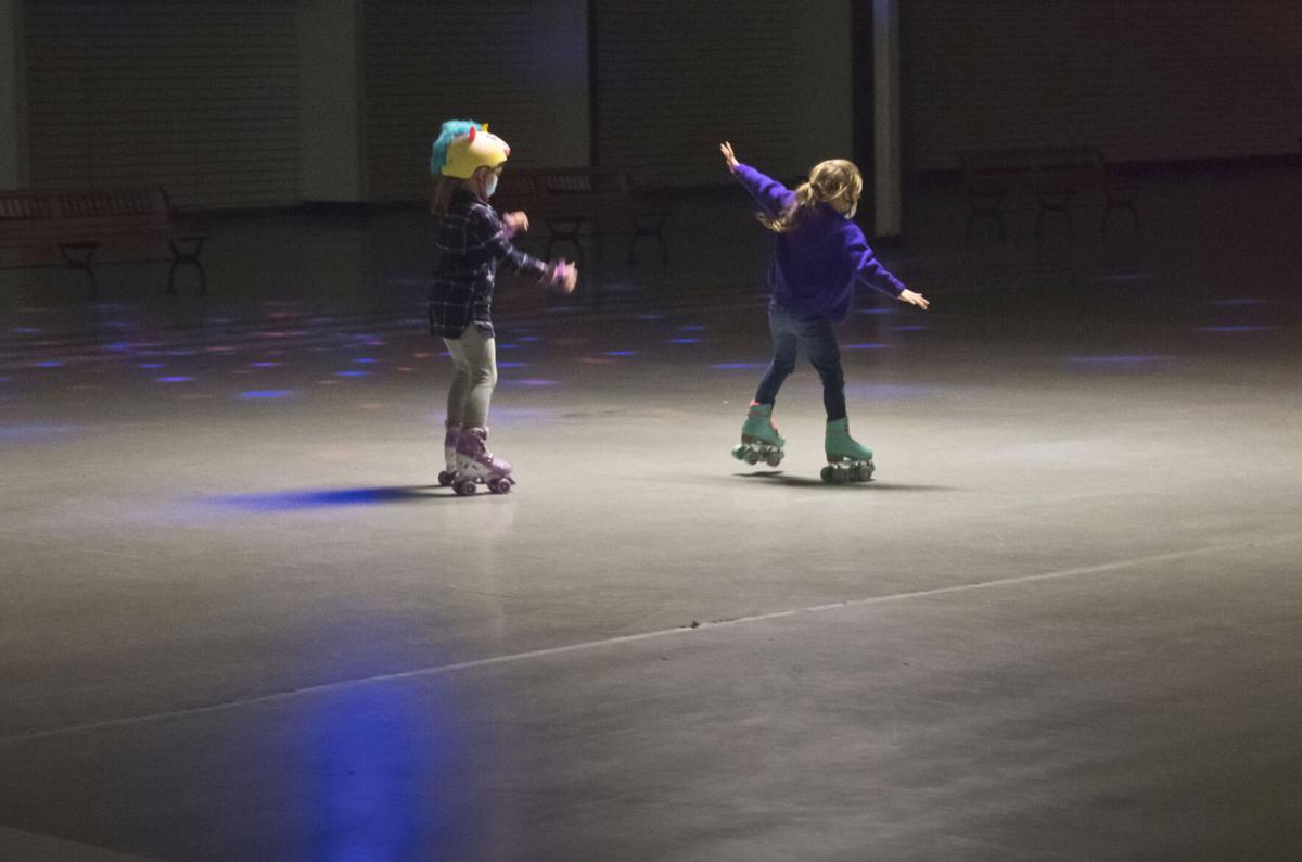 Massena mall turns vacant storefront into rink for roller skating, rollerblading