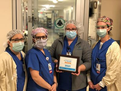 Oswego Health receives national recognition for its support of perioperative nursing certification three years in a row