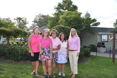 Wednesday's Ladies League donates to breast cancer care