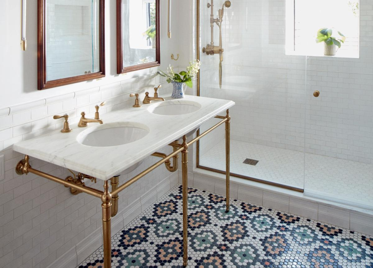 TINY TILES are making a comeback, with a modern twist